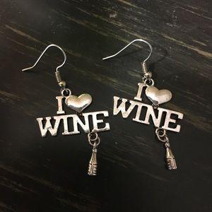 Jewelry - I Love Wine 🍷 Earrings